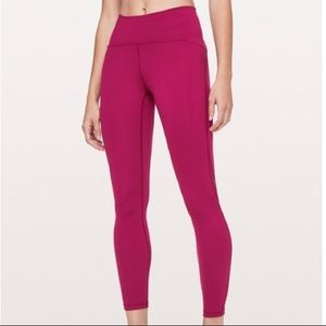 LULULEMON train times pants 28""